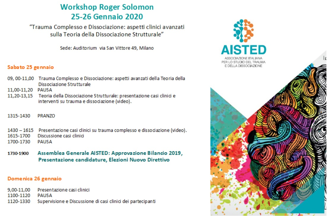 Workshop Solomon e Assemblea generale AISTED 2020